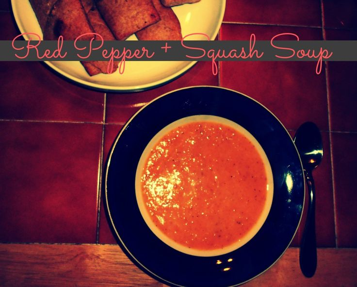 Roasted Red Pepper Soup | Soups | Pinterest