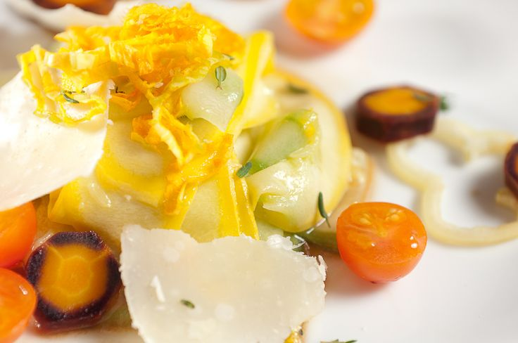 Shaved Summer Squash Composed Salad – Recipe