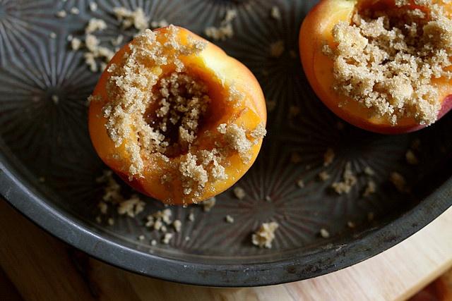 Peach Brulee by joy the baker, via Flickr