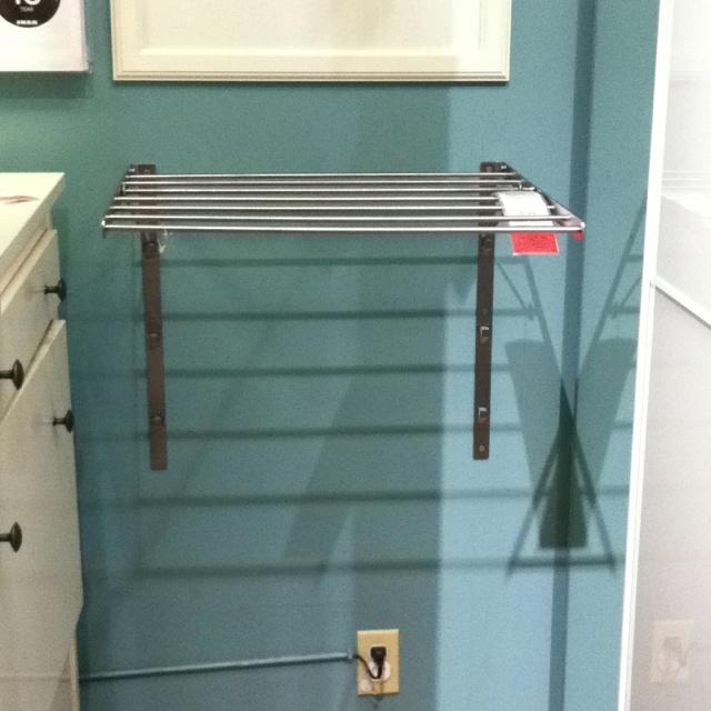 ikea grundtal wall drying rack. Black Bedroom Furniture Sets. Home Design Ideas