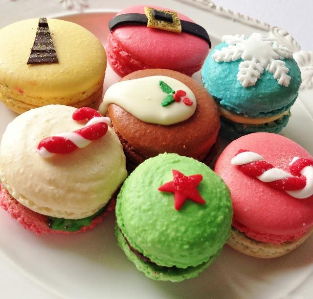 Christmas Macarons   Diabetes   Pinterest