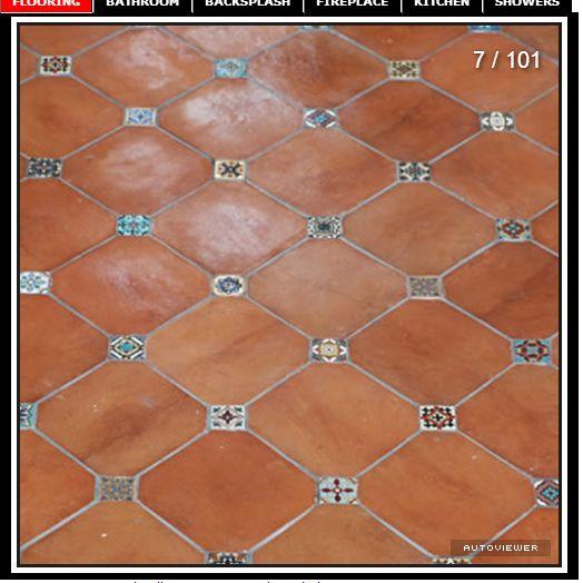 Mexican Floor Tile For Bathroom