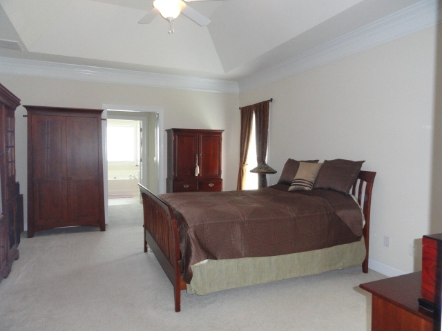 Master Suite Tray Ceiling Bedrooms Closets Storage