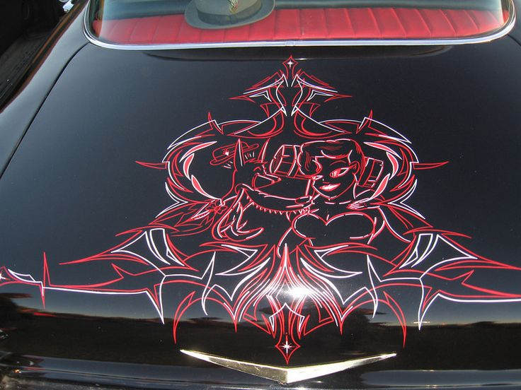 Awesome pinstriping