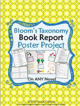 blooms taxonomy book report Creating writing assignments using bloom's  or have them report their observations on a threaded  a revision of bloom's taxonomy of educational objectives.