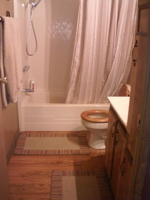 Small Bathroom Idea Mobile Home Renovation Ideas Pinterest