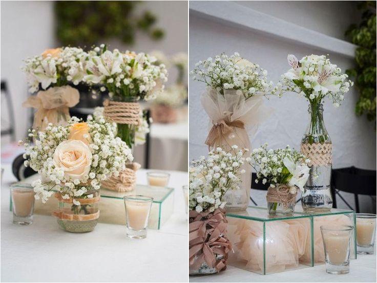 decoração casamento  Lets Party!  Pinterest