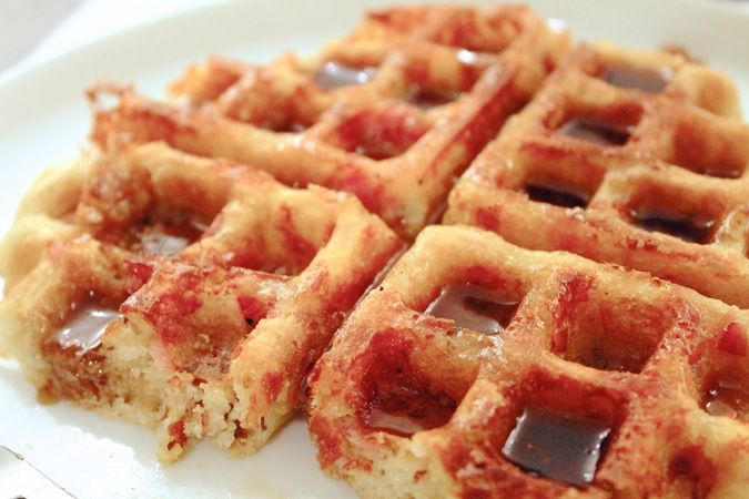 Ham and Cheese Waffles | Carb loaded love | Pinterest