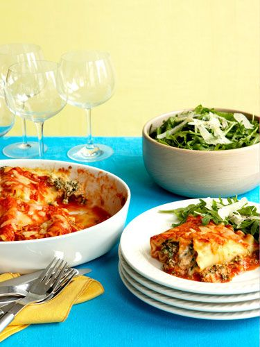 Lasagna Spirals Lasagna can be time-consuming, but these spirals are ...