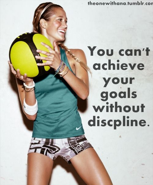 So get Disciplined!!