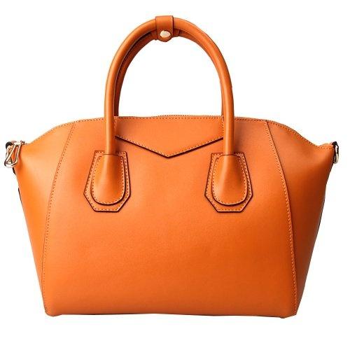 Vintage-Brown Hobo leather Tote Bag Purse Satchel Shoulder Strap for