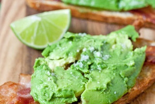 Avocado-Bacon Toasts — Recipe from Panini Happy