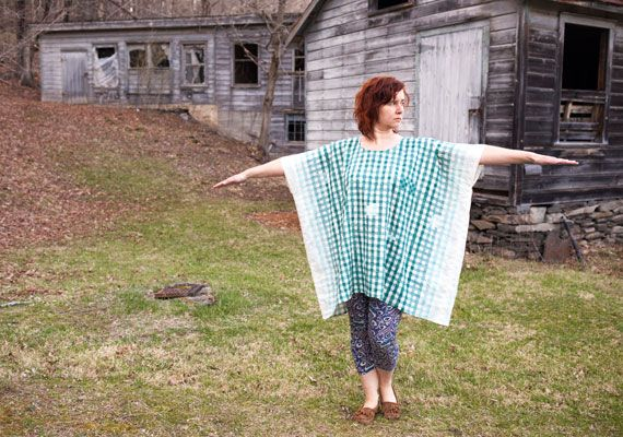 Easy handmade square dress