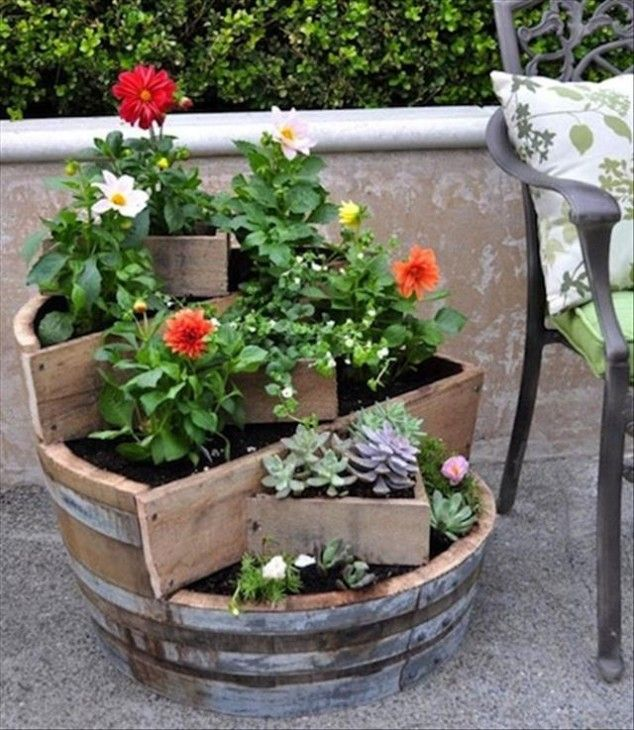 How To Use Old Wine Barrel