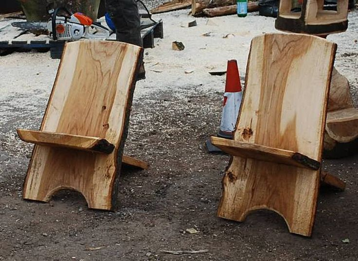 Wood camping furniture