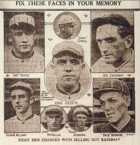 an overview of the infamous chicago black sox scandal of 1919 Rare footage of 1919 world series chicago white sox conspired to fix the world series in 1919 in exchange for cash bribes the black sox scandal that.