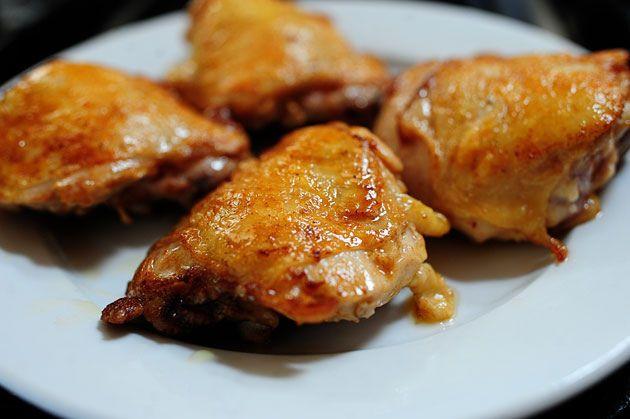 Peach-Whiskey Barbecue Chicken | Recipe