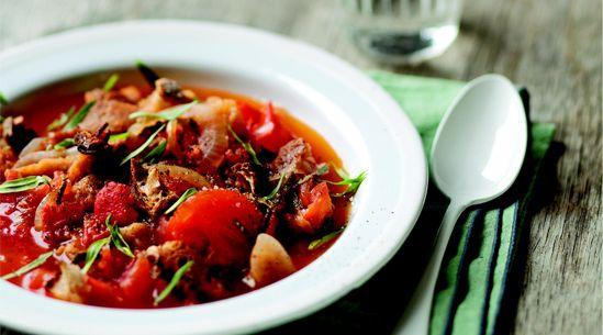 Tomato and Tarragon Bread Soup | Recipe