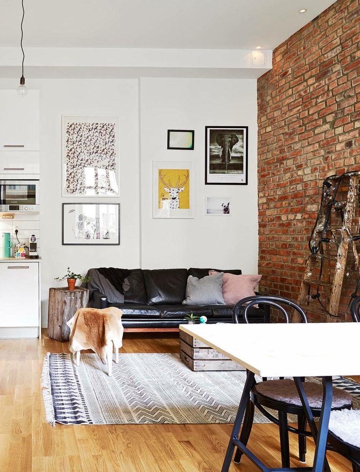 Beautiful brick wall - via cocolapinedesign.com