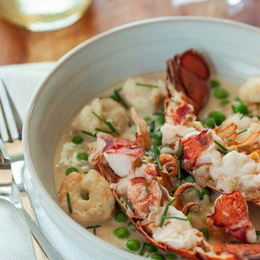 Shrimp/lobster pan roast. | NOLA Seafood Pan Roast | Pinterest