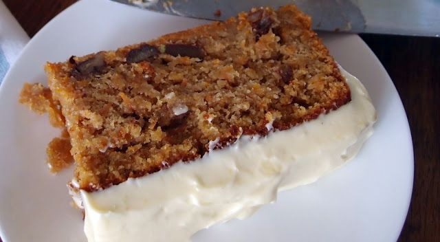Carrot Cake with Lime Mascarpone Frosting