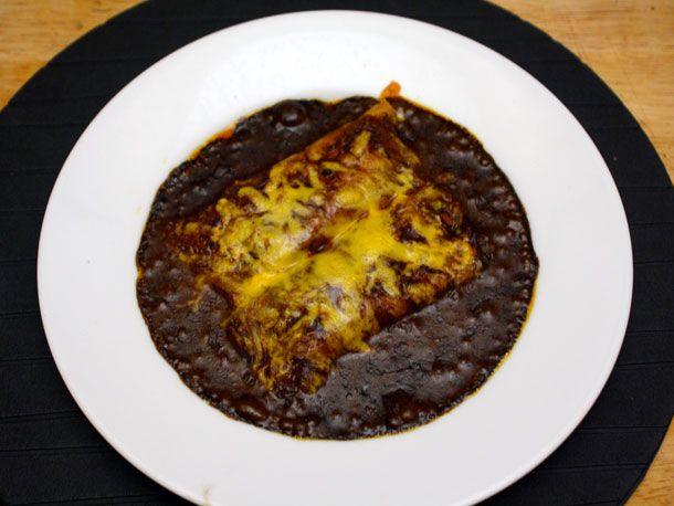 Original Cheese Enchiladas With Chili Gravy Recipe — Dishmaps