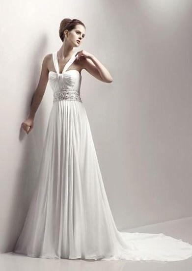 Greek Style Wedding Gown