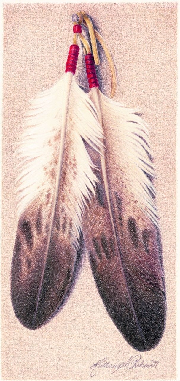 Eagle feather crafts