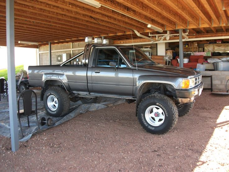 Toyota 4x4 1985 I Want This Truck Wheeling Pinterest