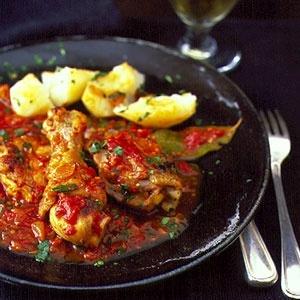 Chicken Cacciatore | Bite on this | Pinterest