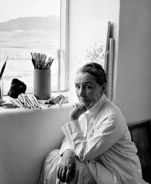 Georgia O'Keeffe, 1953