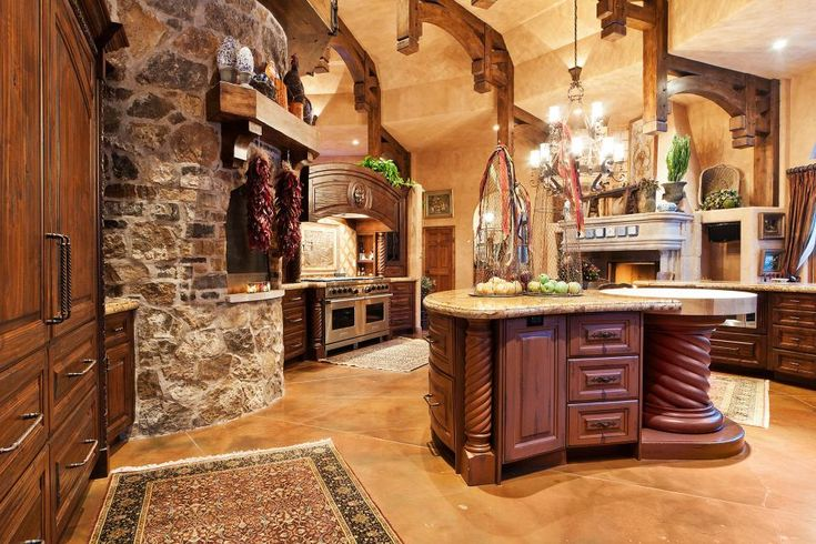 Tuscany kitchen tuscan style kitchen home design for Old world tuscan kitchen designs