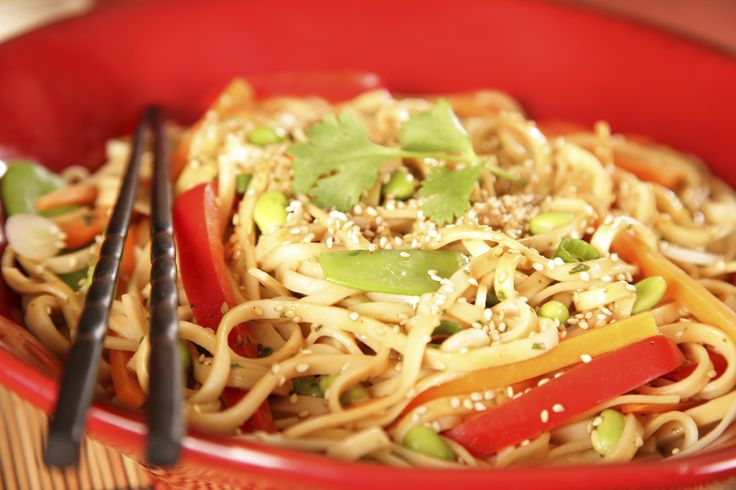 Chinese Noodles Recipes: Asian Cold Noodle Salad