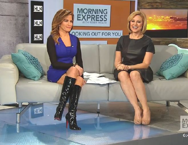 THE APPRECIATION OF BOOTED NEWS WOMEN BLOG : robin meade ...