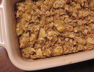 Baked Apple Pie Oatmeal | AllFreeCasseroleRecipes.com