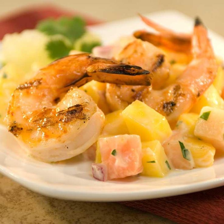 Tropical Grilled Shrimp Cocktail | Daily Delectables | Pinterest