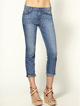 J Brand Aoki Tulum Brand Aoki Stars Cropped Jeans from Piperlime... LOVE!