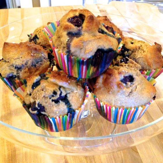 Low Fat Whole Wheat Blueberry Muffins 101