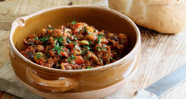 Caponata Aubergine Stew - Quick and Easy Recipes From Stylist Magazine ...