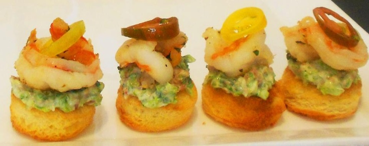 This Shrimp BLT with Whipped Lettuce and Bacon Mayo on Brioche toast ...