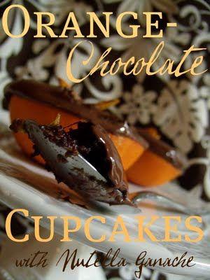 Cupcakes in an orange - genius!! | DIY | Pinterest
