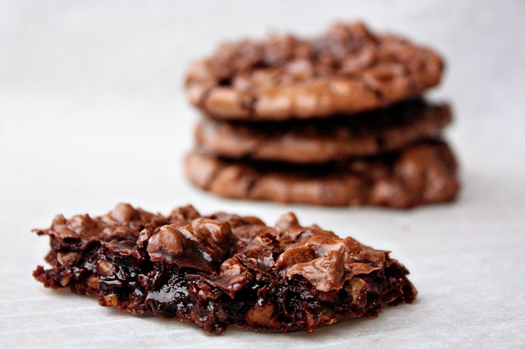 Delightful Bitefuls: Chocolate Puddle Cookies