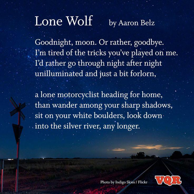 Lone Wolf Poems Lone Wolf Poem