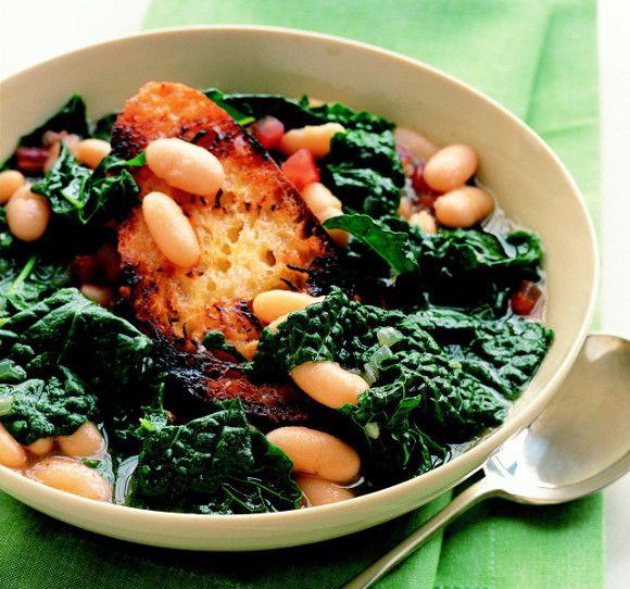 Cavolo Nero and Cannellini Bean Soup   (Vegan) Deliciousness   Pinter ...