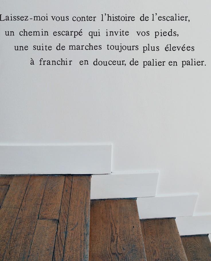Muursticker trap huis pinterest - Huis trap ...