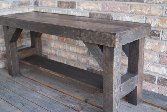 Bench Farmhouse Bench Benches Entryway Bench Rustic Bench W