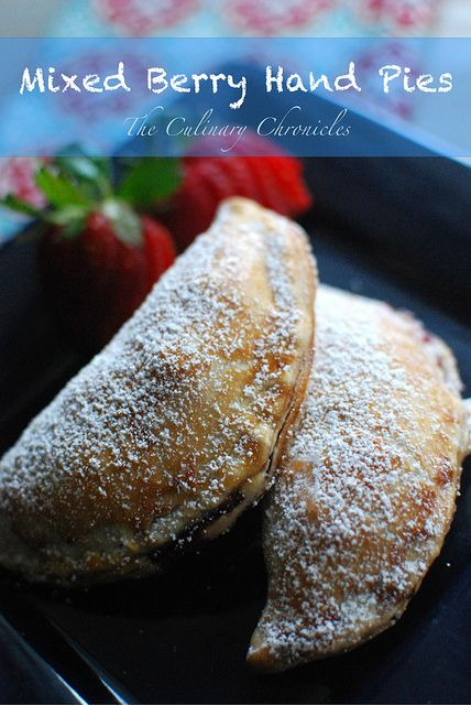 Mixed Berry Hand Pies by The Culinary Chronicles, via Flickrp