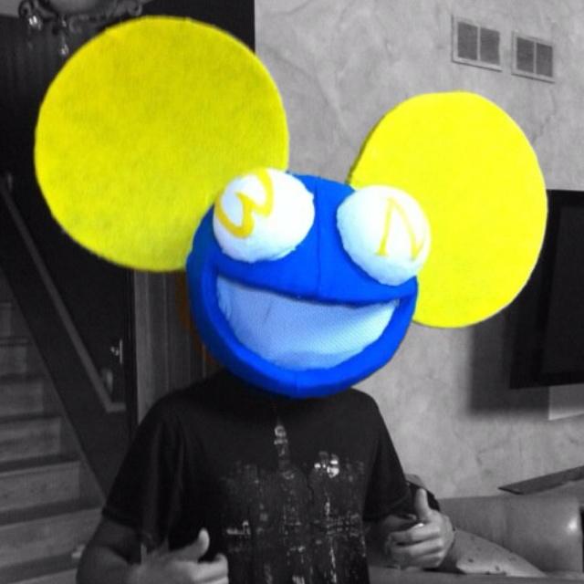 My creation of deadmau5