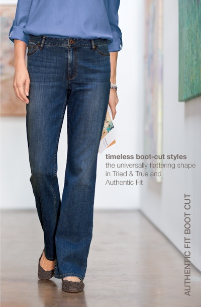 how to wear bootcut jeans with flats