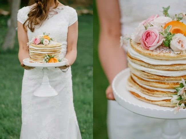 apricot pancake cake layered with maple and vanilla bean butter cream ...